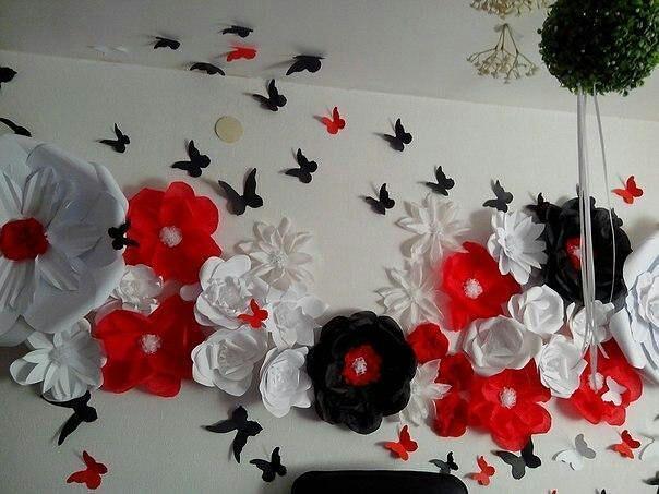 Цветы объемные своими руками фото 822