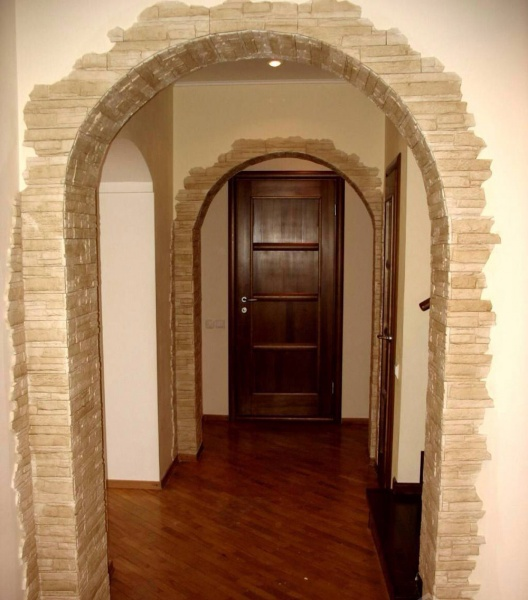 Чем можно отделать дверной проем без двери