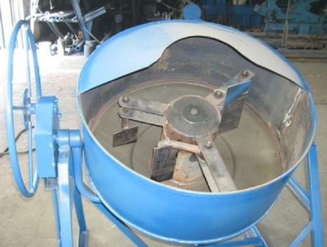 Гравитационная бетономешалка своими руками