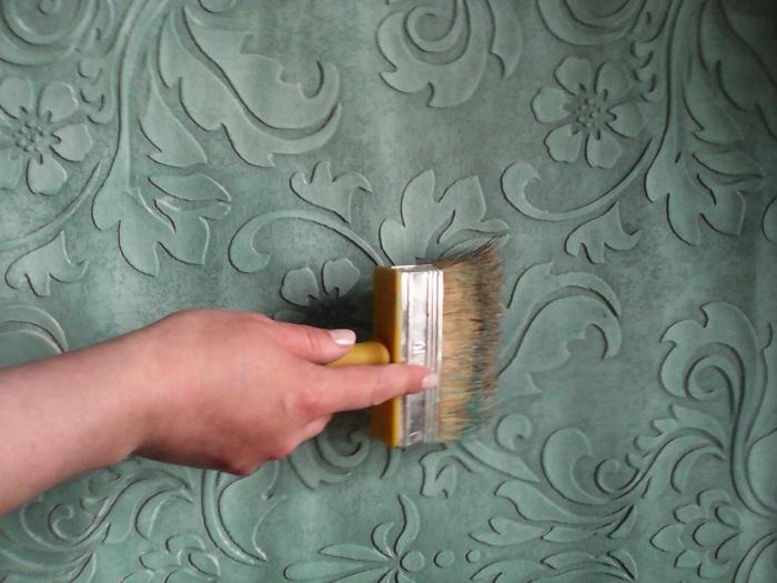 Покраска фактурной штукатурки своими руками видео