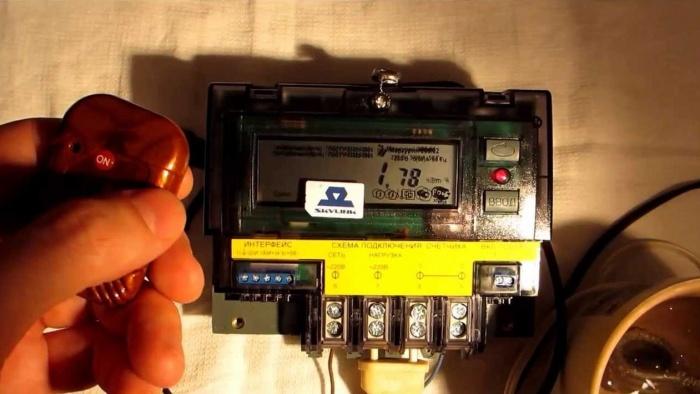 Ремонт электросчетчика меркурий своими руками