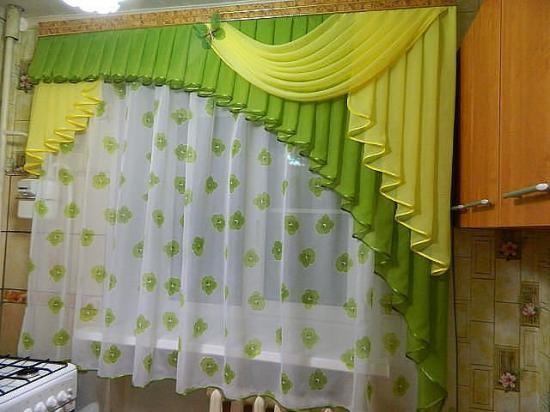 Фото идей тюль и шторы 44