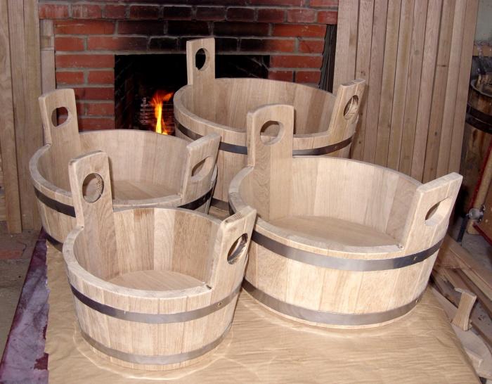 Мебель для бани из дерева