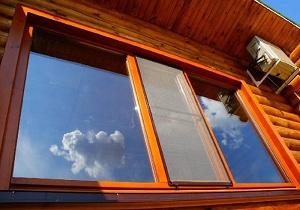 монтаж деревянного окна