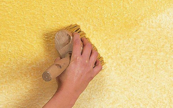 Как покрасить стены фактурной краской своими руками 318