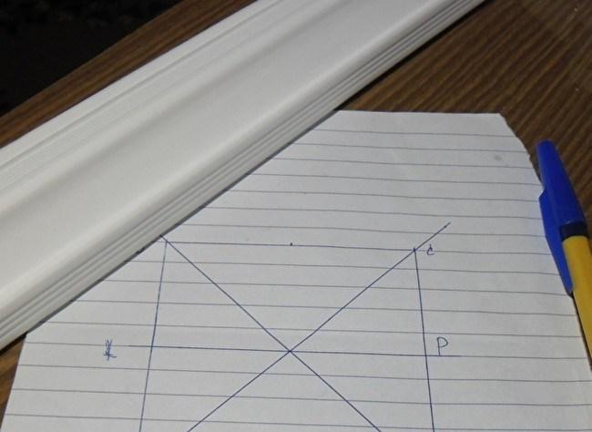 Как сделать углы на потолочном плинтусе руками 79