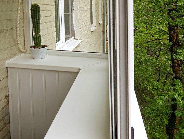 Отделка балконов и лоджий