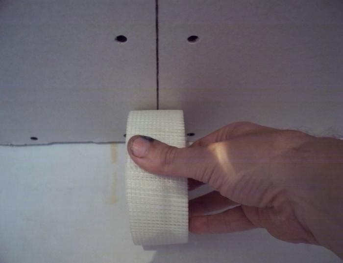Штукатурка гипсокартона под обои