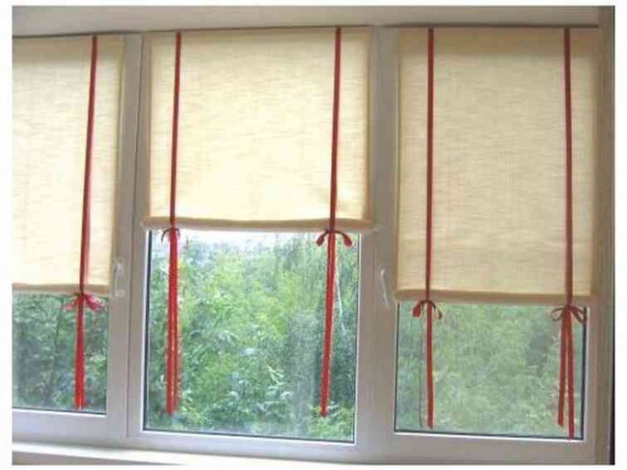 Рулонные шторы своими руками как альтернатива жалюзи
