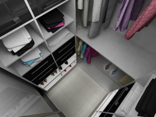 Дизайн гардеробной комнаты 2 кв.м фото
