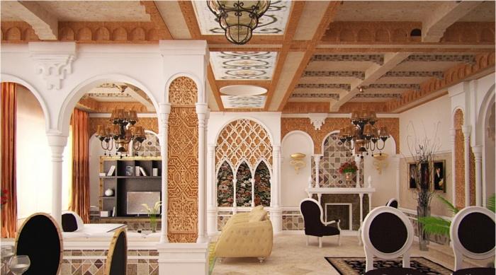 Фото интерьер в мавританском стиле