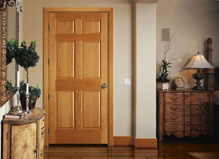Каркасные двери с МДФ накладкой, ламинированные или двери под покраску