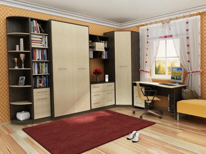 muebles modulares para los niños