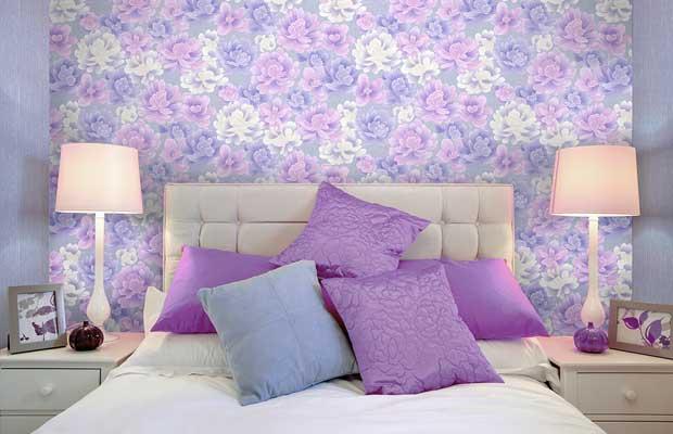 Обои элизиум в интерьере фото спальни