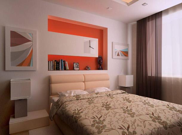 Спальня 18 кв м своими руками