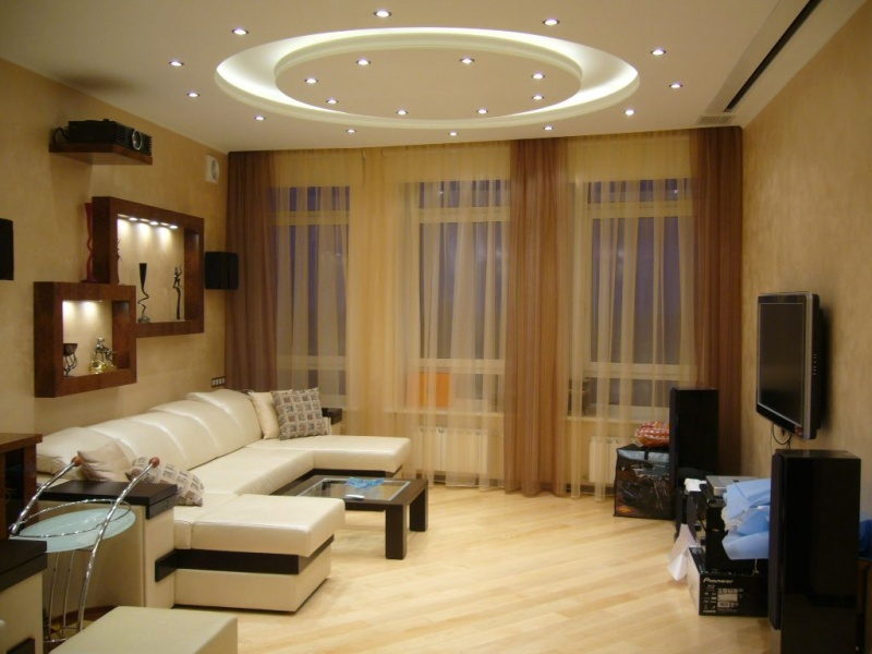 Как сделать освещение по всей комнате 781