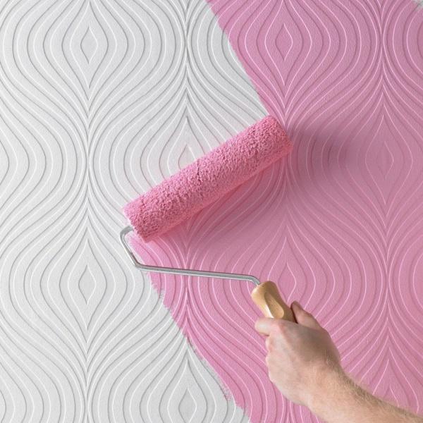 Можно ли красить виниловые обои и чем лучше это сделать