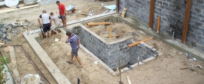 Как залить фундамент под гараж своими руками