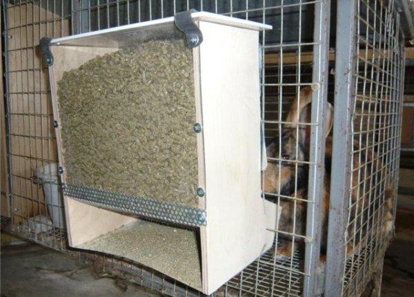 Чертежи бункерной кормушки для кроликов  видео 91