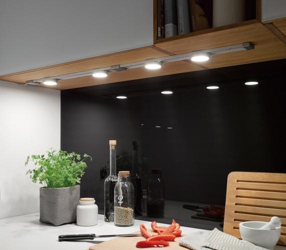 Освещение в мебели