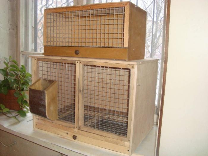 Как сделать клетку для кролика своими руками в домашних условиях