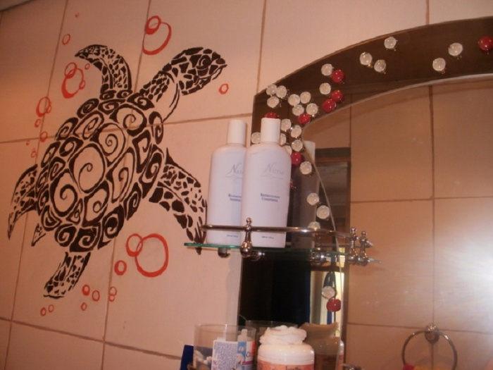 Своими руками украшаем ванную комнату