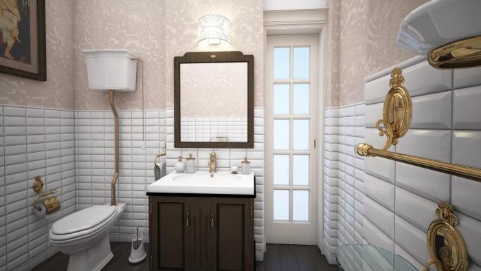 Туалет дизайн обои фото