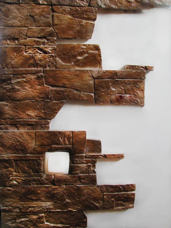Гипсовый декоративный камень