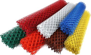 Сетка с ПВХ-покрытием или пластифицированная