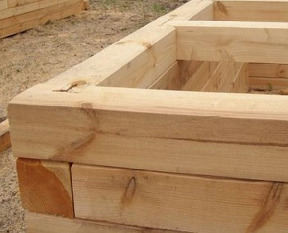 Построим баня из бруса своими руками 36