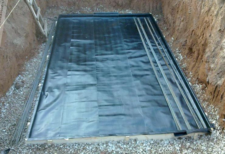 Гидроизоляция погреба в гараже