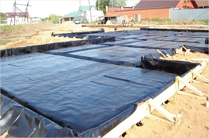 Гидроизоляция плавающего фундамента багет полиуретановый европласт