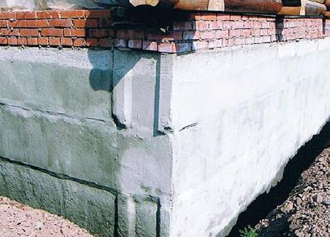 Внутренняя проникающая гидроизоляция цоколя трубы для теплотрасс покрытые полиуретаном гидроизоляция