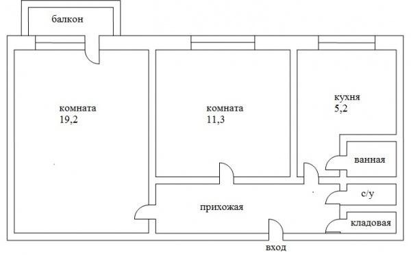 Дизайн двухкомнатной квартиры 64 кв м в стиле минимализм