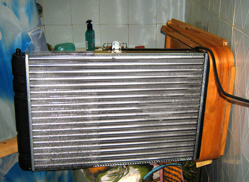 кондиционер из радиатора