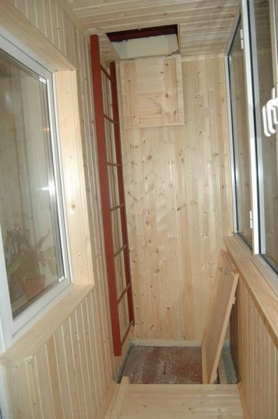 Узаконить перепланировку на балконе пожарный люк