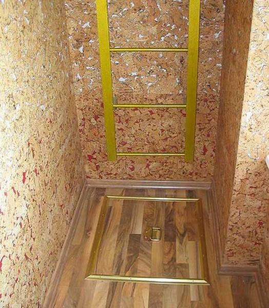 Варианты лестниц на лоджии