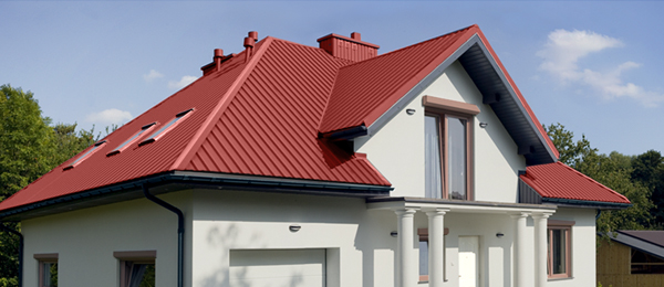 Крыша из профнастила от НТК