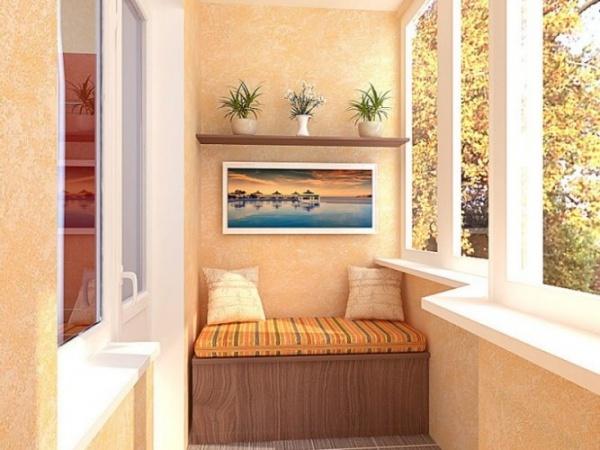 многофункциональная мебель для балкона