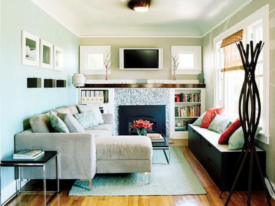 Дизайн спальни-гостиной 16 кв м фото