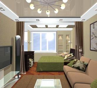 План перепланировки 3-комнатной квартиры в доме серии П