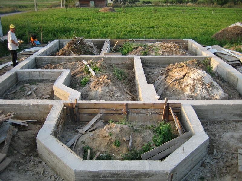 Фундамент на насыпном грунте – уплотнение насыпи ...