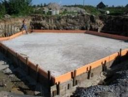 Ленточный фундамент  расчет на примере  Фундамент дома