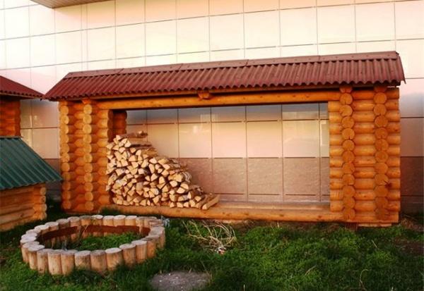 Сделать дровяник своими руками фото фото 57