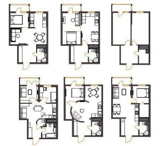 Перепланировка 3- х комн квартиры серии БПС