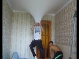 фото потолок своими руками