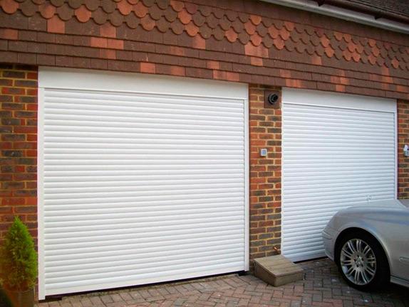 рольставни на воротах гаража