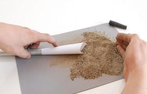 сгибаем трубу с помощью песка