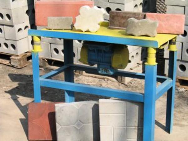 Производство тротуарная плитка своими руками фото