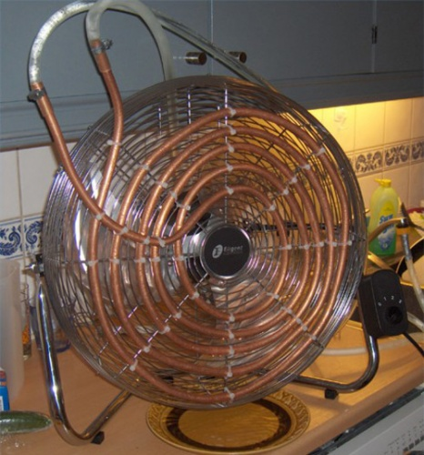 Как сделать тепловентилятор своими руками